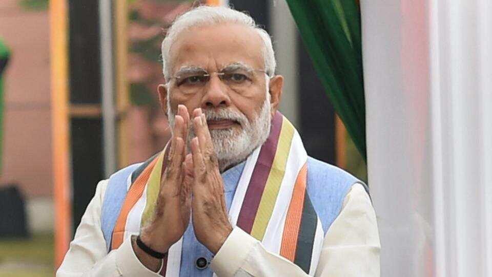 Narendra Modi in Ayodhya