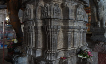 Pillars at Aavudaiyar Kovil
