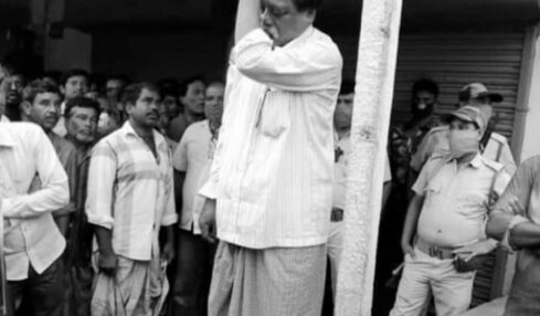 bjp mla killed and hanged in WB