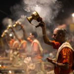 Aarti on the Ghats of Banaras